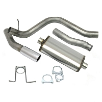 1997-2003 F150 4.6L & 5.4L JBA Single Side Exit Cat-Back Exhaust System