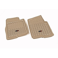 2011-2014 F150 & Raptor Rugged Ridge Front Floor Mats (Tan)