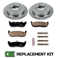 1997-2003 F150 4WD Power Stop Complete Z16 OE Rear Replacement Brake Kit