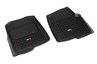 2011-2014 F150 & Raptor Rugged Ridge Front Floor Mats (Black)