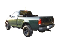 1997-2003 F150 Standard Cab N-FAB Wheel-To-Wheel Side Steps (6.5 ft. Bed)