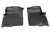 2009-2014 F150 & Raptor WeatherTech DigitalFit Front Floor Mats (Black)