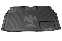 2009-2014 F150 & Raptor SuperCrew WeatherTech Rear DigitalFit Floor Mat (Black)
