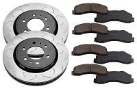 2010-2019 F150 & Raptor FactionFab Front Swept Slot Brake Package