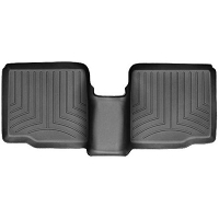 2011-2015 Explorer WeatherTech 2nd Row FloorLiner - Black (Bucket Seats w/ Center Console)