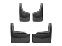 2011-2016 F250 & F350 Dually WeatherTech No-Drill Front & Rear Mud Flaps (For Trucks Without OE Fender Flares)