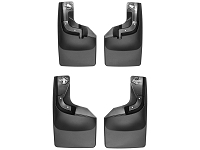2017-2019 F250 & F350 WeatherTech Digital Fit No-Drill Front & Rear Mud Flaps