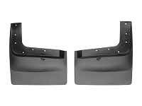 2011-2016 F250 & F350 Dually WeatherTech No-Drill Rear Mud Flaps (For Trucks Without OE Fender Flares)