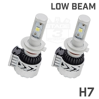 2015-2017 F150 CrystaLux XHP70 H7 LED Conversion Kit for ANZO Headlights