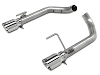 2015-2017 Mustang GT AWE Track Edition Axle-Back Exhaust System w/ Chrome Silver Tips