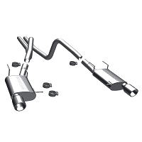 11-12 Mustang V6 3.7L MagnaFlow Cat-back Exhaust (Street)