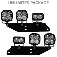 2017-2018 Raptor Baja Designs Unlimited Fog Light Bucket Off-Road Lighting Package