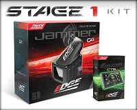 2003-2007 F250 & F350 6.0L Edge Stage 1 Performance Package - CARB Compliant California Edition (CTS2/Jammer/Dry Filter)