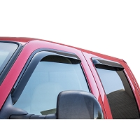 1999-2016 F250 & F350 SuperCrew WeatherTech Front & Rear Side Window Deflectors (Dark Smoke)