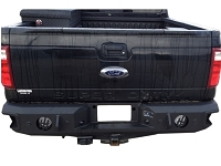 1999-2016 F250 & F350 Hammerhead Rear Bumper with Sensors