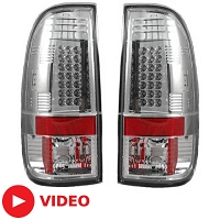 1999-2007 F250 & F350 Recon Lighting LED Tailights