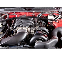2010 Mustang GT 4.6L Vortech V-3 Si H.O. Supercharger w/ Charge Cooler (Black)