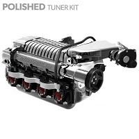 2010-2014 F150 & Raptor 6.2L Whipple 2.9L Intercooled Supercharger Tuner Kit (Polished)