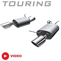 2011-2014 Mustang 3.7L V6 Borla Touring Axle-Back Exhaust System