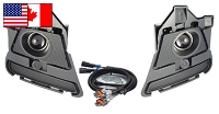 2013-2014 Mustang GT Starkey Products GT/CS Style Fog Light Kit