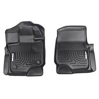 2015-2019 F150 & Raptor Husky WeatherBeater™ Front Floor Mats (Black)