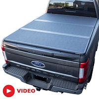 2017-2019 F250 & F350 Extang Solid Fold 2.0 Tonneau Cover (Short Bed)