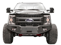 2017-2019 F250 & F350 Fab Fours Premium Winch-Ready Front Bumper