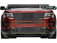 2016 Explorer T-REX Billet Bumper Grille Insert - Polished (2 pc.)