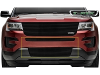 2016 Explorer T-REX Billet Bumper Grille Insert - Black (2 pc.)