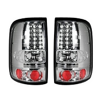 2004-2008 F150 Recon LED Tail Lights - Clear