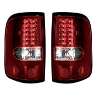 2004-2008 F150 Recon Red LED Tail Lights