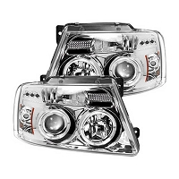 2004-2008 F150 Recon Projector Headlights (Chrome)