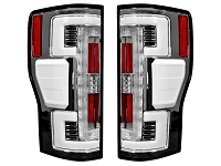 2017-2019 F250 & F350 RECON OLED Taillights for OEM LEDs (Clear Lenses)
