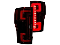 2017-2019 F250 & F350 RECON OLED Taillights for OEM Halogens (Red Lenses)