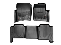 2004-2008 F150 Crew Cab WeatherTech Floor Liner Digital Fit (Black)