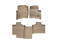 2004-2008 F150 SuperCab WeatherTech Floor Liner Digital Fit (Tan)