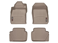 2014-2017 Fiesta WeatherTech Laser Measured FloorMats (Tan)