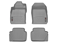 2014-2017 Fiesta WeatherTech Laser Measured FloorMats (Gray)