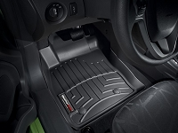2014-2017 Fiesta WeatherTech Laser Measured Front Floor Mats (Black)