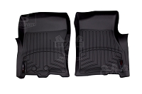 2011-2015 Ford Expedition WeatherTech DigitalFit Front Floor Mats (Black)