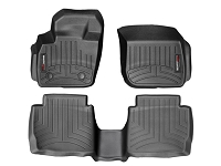 2013-2017 Fusion WeatherTech Front & Rear Floor Mats (Black)