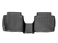 2017 Fusion Sport WeatherTech Laser-Measured Rear FloorMats (Black)