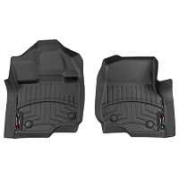 2015-2019 F150 & Raptor WeatherTech Front Floor Mats Digital Fit (Black)