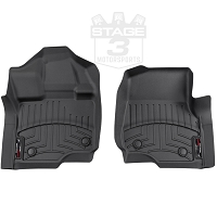 2015-2018 F150 & Raptor WeatherTech Front Floor Mats Digital Fit (Black)