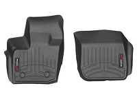 2017 Fusion Sport WeatherTech Laser-Measured Front FloorMats (Black)