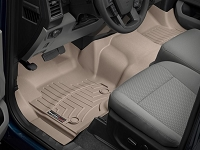 2017-2019 F250 & F350 WeatherTech Over-the-Hump Floor Liner (Tan)