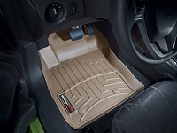 2014-2017 Fiesta WeatherTech Laser Measured Front FloorMats (Tan)