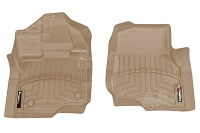 2015-2019 F150 & Raptor WeatherTech Front Floor Liner Digital Fit (Tan)