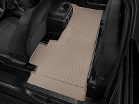 2017-2019 F250 & F350 SuperCab WeatherTech DigitalFit Rear Floor Liner (Tan)