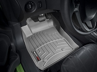 2014-2017 Fiesta WeatherTech Laser Measured Front FloorMats (Gray)